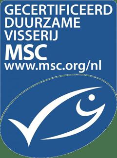 Gecertificeerd duurzame visserij - Certificaat MSC