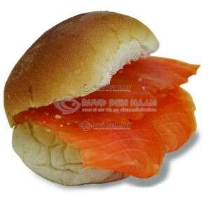 Broodje Noorse Zalm