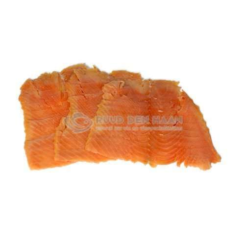 Alaska King zalm filet huisgerookt