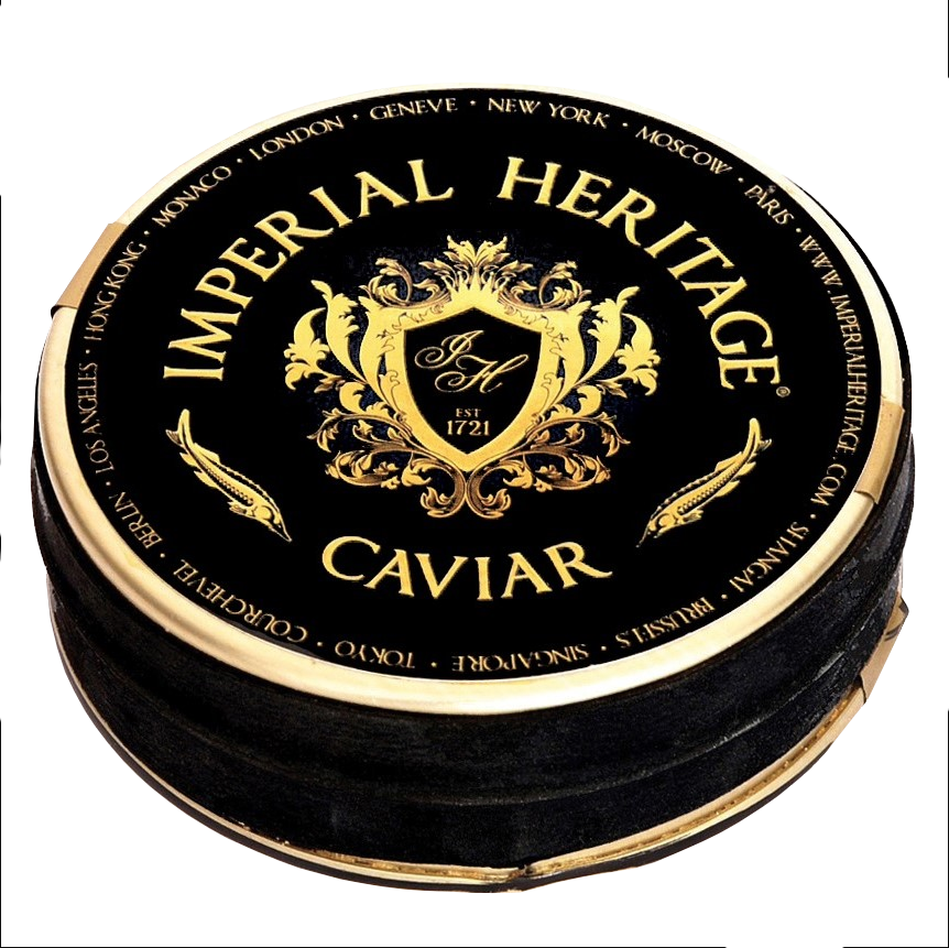 Een blikje kaviaar van Imperial Heritage - Russian Tradition